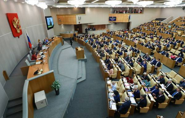 The State Duma adopted Putin&#39